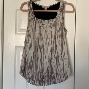 Tops - Sleeveless flowing, blouse